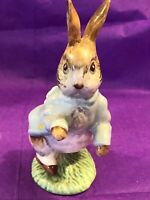 F. warne Co. Beatrix Potter Peter Rabbit. Beswick England 1948. Signed & numbere