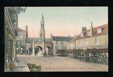 Somerset SHEPTON MALLETT Market Cross Ancient Shambles c1900/10s? PPC