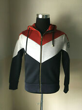 Moncler Gamme Bleu Tri Colour Neoprene Hooded Jacket by Thom Browne M