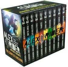 Alex Rider 10 Book Collection Box Set By Anthony Horowitz - Brand New and Sealed