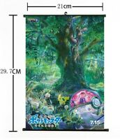 "Hot Movie Anime Pokemon I Choose You Home Decor Poster Wall Scroll 8""x12"" FL899"