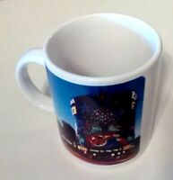 Riveria Hotels Cup Vintage Collectible Casino Las Vegas Advertising Scene Mug