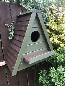 Owl nesting box, suitable for jackdaws stock doves etc. other colours to order