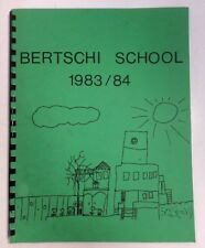 1983 1984 Bertschi School Yearbook Autographs Seattle Washington OldYearBookShop