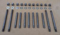 AUSTIN SOMERSET A40 DEVON, CYLINDER HEAD STUDS & NUTS EARLY CARS