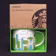 2015 STARBUCKS SEATTLE WASHINGTON YAH YOU ARE HERE COLLECTION COFFEE MUG 14 been