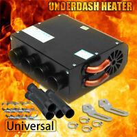 12V Universal Copper Underdash Compact Air Heater Heat 3 Speed Switch Car  R
