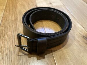 "AllSaints ""Winston"" brown leather belt"