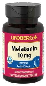 MELATONINA 10 mg - ALTA POTENCIA - MADE IN USA - ALTA QUALITÁ - 60 COMPRIMIDOS