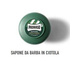 Proraso sapone da barba ciotola 150 ml con olio di eucalipto e mentolo
