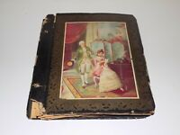 Antique Scrapbook Poetry Clippings Pictures