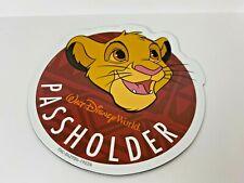 Authentic 2019 Disney World Passholder SimbaMagnet Animal Kingdom WDW