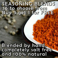 SALT FREE Seasoning Blends From Around The World Over 30 Varieties