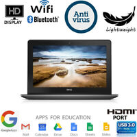 Dell Chromebook 11 Students Laptop Computer Dual Core SSD WiFi HDMI