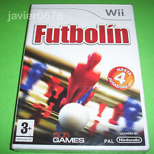 FUTBOLIN NUEVO Y PRECINTADO PAL ESPAÑA NINTENDO Wii