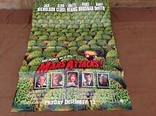 1996 Mars Attacks Original Movie House Full Sheet Poster