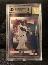 New listing 2002 Donruss Fan Club Sammy Sosa Chicago Cubs Home Run Bat 146/500 Mint 9