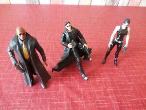 3 Matrix Figuren – Neo – Trinity - Morpheus