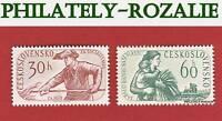 CZECHOSLOVAKIA SET STAMPS MNH ** 1960 Mi 1199/1200 PARLIAMENTARY ELECTIONS
