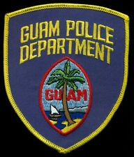 Guam Police Department Patch R-5