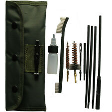 10pcs Gun Rifle Shotgun Cleaning Brush Kit Fit Pouch 22LR 223 556 Rifle Gun
