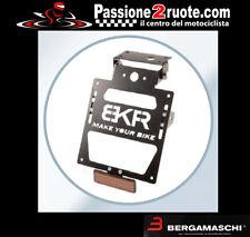 Portatarga Bkr kawasaki zx10r ninja 2011 porta targa license plate regolabile