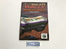 Notice - Top Gear Rally - Nintendo 64 N64 - PAL FRA