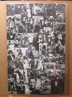 Errol Flynn Vintage collage poster 1970's inv#3223