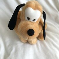 "Pluto Walt Disney Company Plush 12"" Toy Stuffed Animal Dog Walks Barks"
