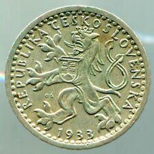 Tschechoslowakei - 25 Haleru - 1933  / #0267