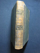 Library of the World Best Literature Vol 3 [Hardcover] by Various Authors 1897