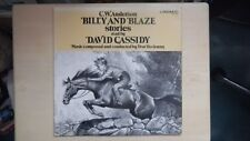 RARE C.W. Anderson BILLY AND BLAZE STORIES read by David Cassidy Caedmon LP 1984