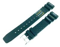 New Black Rubber Divers ND LIMITS Watch Strap Band 18mm 20mm 22mm