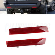 x2 Rear Bumper Reflector Brake Stop Light For Range Rover L322 Freelander 2