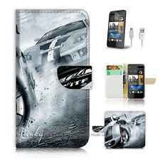 ( For HTC Desire 310 ) Case Cover! Racing Car P1370