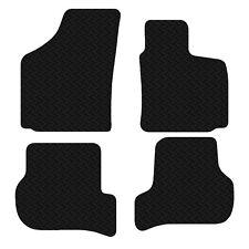 Seat Leon 2005 - 2009 Black Floor Rubber Fully Tailored Car Mats 3mm 4pc Set