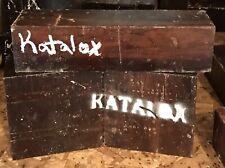 Katalox Hardwood 3x3x12 Peppermill Lathe Woodturning Chisel Handles Knife Scales