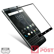 BLACK 3D Full Curved Edge Tempered Glass Screen Protector for Blackberry Keyone