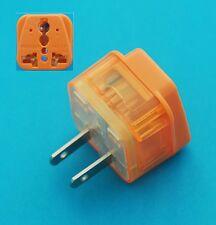 UK EU AUS to USA Japan Canada Universal Travel Adapter  AC Power Plug + Surge