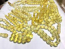 8 Pcs Oval Poland Natural Amber Tasbi Rosary مسباح كهرمان كهرم اصلى قديم