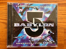 Babylon 5 Volume 2: Messages From Earth Soundtrack Cd, Christopher Franke
