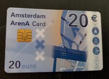Amsterdam Arena Card 2002 20 Euro stadion dak