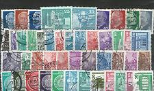 Gestempelte Briefmarken der DDR (1955-1959) als Sammlung