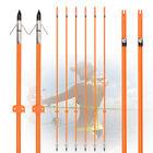 32inch Bowfishing Arrows Solid Fiberglass Fishing Broadhead Archery Hunting Fish