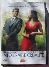 DVD INTOLERABLE CRUAUTE - George CLOONEY / Catherine ZETA JONES - NEUF