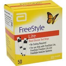FREESTYLE Lite Teststreifen ohne Codieren 50St Teststreifen PZN 3273715