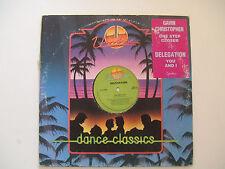 "Gavin Christopher / Delegation-Disco Mix 12"" 33 Giri Vinile Stampa Canada 1990"