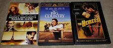 Master of the Game, The Big Country & The Heiress (3 DVD Lot) no scratches
