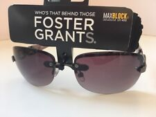 FOSTER GRANTS Designer (ROSE) Sunglasses - UV400 Max Block 100% Protect....