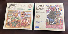 Lot Of Two Boyd Bear And Friends Rubber Stamp Kits